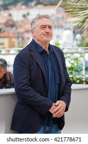 Cannes, France - 16 MAY 2016 - Robert De Niro attends the 'Hands Of Stone' Photocall at the annual 69th Cannes Film Festival