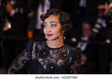 Cannes, France - 16 MAY 2016 - Ruth Negga departs from the 'Loving' Premiere at the annual 69th Cannes Film Festival