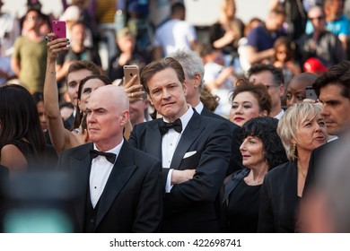 Cannes, France - 16 MAY 2016 - Colin Firth attends a screening of 'Loving' at the annual 69th Cannes Film Festival