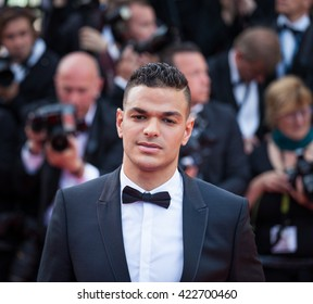 Cannes, France - 16 MAY 2016 - Hatem Ben Arfa attends a screening of 'Loving' at the annual 69th Cannes Film Festival