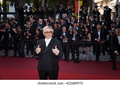 Cannes, France - 17 MAY 2016 - George Miller attends the 'Julieta' Premiere at the annual 69th Cannes Film Festival