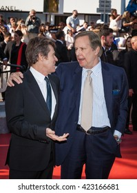 Cannes, France - 19 MAY 2016 - Willem Dafoe and William Friedkin attend the 'Graduation (Bacalaureat)' Premiere during the 69th annual Cannes Film Festival