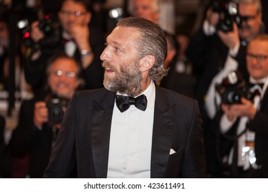 Cannes, France - 19 MAY 2016 - Vincent Cassel  attends the 'It's Only The End Of The World (Juste La Fin Du Monde)' Premiere during the 69th annual Cannes Film Festival