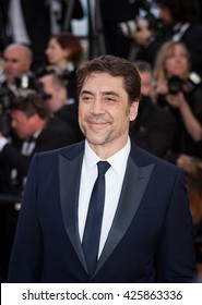Cannes, France - 20 MAY 2016 - Actor Javier Bardem attends 'The Last Face' Premiere during the 69th annual Cannes Film Festival