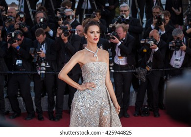Cannes, France - 20 MAY 2016 - Alessandra Ambrosio attends 'The Last Face' Premiere during the 69th annual Cannes Film Festival