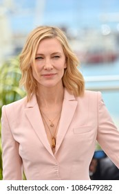 CANNES, FRANCE. May 08, 2018: Cate Blanchett at the photocall for the Cannes Jury at the 71st Festival de Cannes