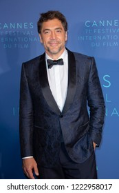 CANNES, FRANCE, MAY 08 2018, Actor Javier Bardem arrives at the Gala dinner during the 71st annual Cannes Film Festival at Palais des Festivals