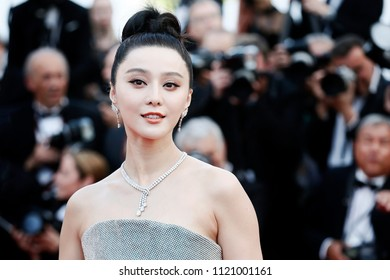 CANNES, FRANCE - MAY 08: Fan Bing Bing attends the screening of 'Everybody Knows' and the opening gala during the 71st Cannes Film Festival on May 8, 2018 in Cannes, France.