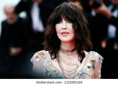 CANNES, FRANCE - MAY 08:  Isabelle Adjani attends the screening of 'Everybody Knows' and the opening gala during the 71st Cannes Film Festival on May 8, 2018 in Cannes, France.