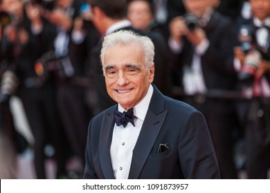 CANNES, FRANCE - MAY 09, 2018: Martin Scorsese attends the screening of 'Everybody Knows (Todos Lo Saben)' and the opening gala during the 71st annual Cannes Film Festival