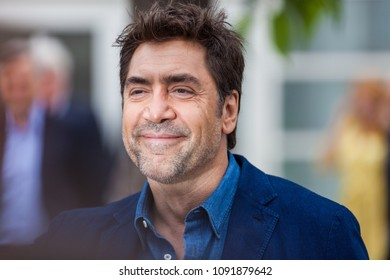 CANNES, FRANCE - MAY 09, 2018:  Spanish Actor Javier Bardem attends the photocall for 'Everybody Knows (Todos Lo Saben)' during the 71st annual Cannes Film Festival