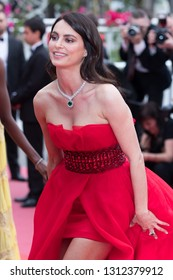 CANNES, FRANCE - MAY 09: Catrinel Marlon attends the screening of Yomeddine the 71st annual Cannes Film Festival on May 9, 2018 in Cannes, France.