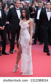 CANNES, FRANCE - MAY 09: Chantel Jeffries attends the screening of Yomeddine during the 71st Cannes Film Festival on May 9, 2018 in Cannes, France.