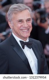CANNES, FRANCE - MAY 09:  Christoph Waltz attends the screening of Yomeddine during the 71st Cannes Film Festival on May 9, 2018 in Cannes, France.