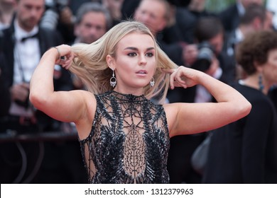 CANNES, FRANCE - MAY 09:  Tallia Storm attends the screening of Yomeddine during the 71st Cannes Film Festival on May 9, 2018 in Cannes, France.