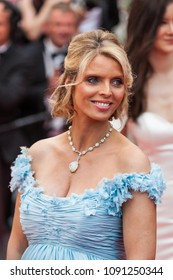 CANNES, FRANCE - MAY 10, 2018: Sylvie Tellier attends the screening of 'Sorry Angel (Plaire, Aimer Et Courir Vite)' during the 71st annual Cannes Film Festival