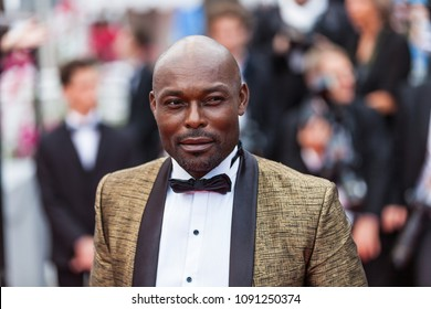 CANNES, FRANCE - MAY 10, 2018: Jimmy Jean Louis attends the screening of 'Sorry Angel (Plaire, Aimer Et Courir Vite)' during the 71st annual Cannes Film Festival
