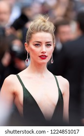 Cannes, France, May 10, 2018,Amber Heard attends the screening of 'Sorry Angel (Plaire, Aimer Et Courir Vite)' during the 71st annual Cannes Film Festival