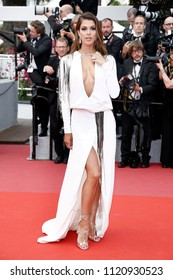 CANNES, FRANCE - MAY 10:  Iris Mittenaere attends the premiere of 'Sorry Angel' during the 71st  Cannes Film Festival on May 10, 2018 in Cannes, France