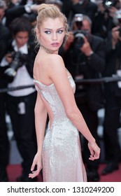 CANNES, FRANCE - MAY 10: Stella Maxwell attends the screening of Sorry Angel during the 71st  Cannes Film Festival at Palais des Festivals on May 10, 2018 in Cannes, France.