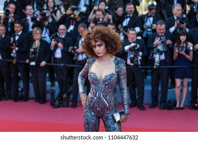 CANNES, FRANCE - MAY 11, 2018: Actress Kangana Ranaut attends the screening of 'Ash Is The Purest White (Jiang Hu Er Nv)' during the 71st annual Cannes Film Festival