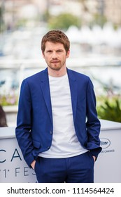 CANNES, FRANCE - MAY 11, 2018:  Actor Pierre Deladonchamps attends the photocall for 'Sorry Angel (Plaire, Aimer Et Courir Vite)' during the 71st annual Cannes Film Festival