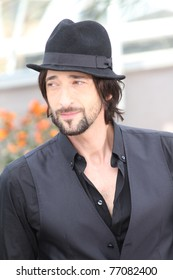 CANNES, FRANCE - MAY 11: Actor Adrien Brody attends the 'Midnight In Paris' photocall at the Palais des Festivals during the 64th Cannes Film Festival on May 11, 2011 in Cannes, France