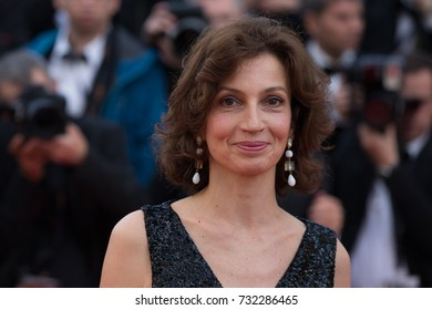 CANNES, FRANCE - MAY 11: Audrey Azoulay attends the 'Cafe Society' premiere and the Opening Night Gala. 69th annual Cannes Film Festival at the Palais des Festivals on May 11, 2016 in Cannes