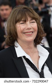 CANNES, FRANCE - MAY 11:  Jane Birkin attends the 'Cafe Society' premiere and the Opening Night Gala during the 69th annual Cannes Film Festival at the Palais des Festivals on May 11, 2016 in Cannes