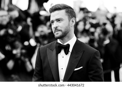 CANNES, FRANCE - MAY 11: Justin Timberlake attends the 'Cafe Society' premiere during the 69th Cannes Film Festival on May 11, 2016 in Cannes, France.