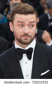 CANNES, FRANCE - MAY 11: Justin Timberlake attends the 'Cafe Society' premiere and the Opening Night Gala. 69th annual Cannes Film Festival at the Palais des Festivals on May 11, 2016 in Cannes