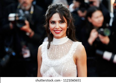 CANNES, FRANCE - MAY 11: Singer Cheryl attends the screening of 'Ash Is The Purest White' during the 71st Cannes Film Festival on May 11, 2018 in Cannes, France.