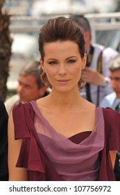 CANNES, FRANCE - MAY 12, 2010: Cannes Jury member, actress Kate Beckinsale  at the 63rd Festival de Cannes.