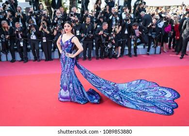 Cannes France May 12 2018 Aishwarya Stock Photo Edit Now