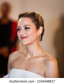 CANNES, FRANCE - MAY 12, 2018: Marion Cotillard attend the screening of 'Girls Of The Sun (Les Filles Du Soleil)' during the 71st annual Cannes Film Festival