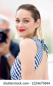 Cannes, France, May 12, 2018, Marion Cotillard attends the photocall for 'Angel Face (Gueule D'Ange)' during the 71st annual Cannes Film Festival at Palais des Festivals