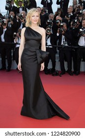 Cannes, France, May 12, 2018, Cate Blanchett attends the screening of 'Girls Of The Sun (Les Filles Du Soleil)' during the 71st annual Cannes Film Festival at Palais des Festivals.