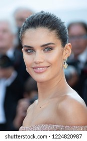 Cannes, France, May 12, 2018, Sara Sampaio attends the screening of 'Girls Of The Sun (Les Filles Du Soleil)' during the 71st annual Cannes Film Festival at Palais des Festivals.