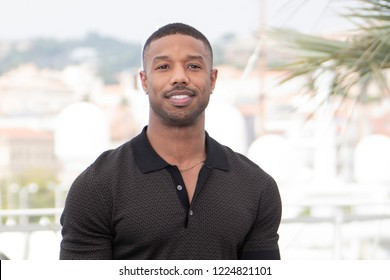Cannes, France, May 12, 2018, Michael B. Jordan attends the photocall for the 'Farenheit 451' during the 71st annual Cannes Film Festival at Palais des Festivals