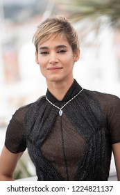 Cannes, France, May 12, 2018, Sofia Boutella attends the photocall for the 'Farenheit 451' during the 71st annual Cannes Film Festival at Palais des Festivals