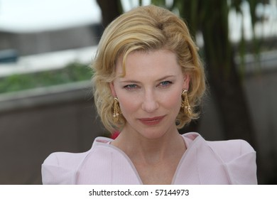 CANNES, FRANCE - MAY 12: Actress Cate Blanchett attends the 'Robin Hood' Photocall held at the Palais Des Festivals during the 63 International Cannes Film Festival on May 12, 2010 in Cannes, France.