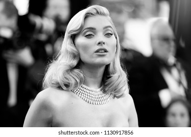 CANNES, FRANCE - MAY 12: Elsa Hosk attends the screening of 'Girls Of The Sun' during the 71st Cannes Film Festival on May 12, 2018 in Cannes, France.
