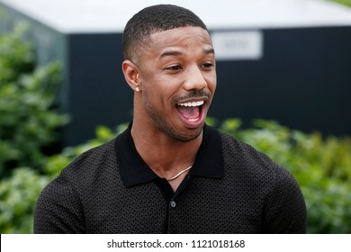 CANNES, FRANCE - MAY 12: Michael B. Jordan attends the photo-call of 'Farenheit 451' during the 71st Cannes Film Festival on May 12, 2018 in Cannes, France.