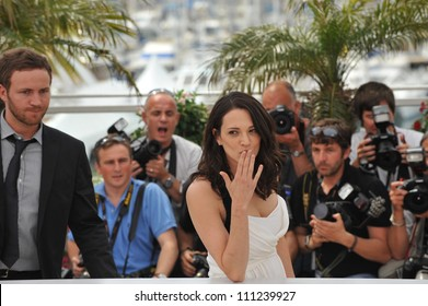 CANNES, FRANCE - MAY 13, 2009: Asia Argento at the Jury photocall at the 62nd Festival de Cannes.