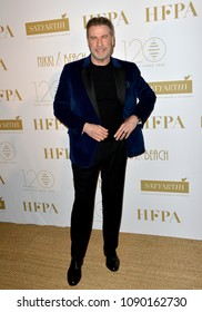 CANNES, FRANCE. May 13, 2018: John Travolta at the Hollywood Foreign Press Association Party at Nikki Beach at the 71st Festival de Cannes