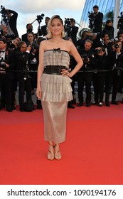 """CANNES, FRANCE. May 13, 2018: Marion Cotillard at the gala screening for """"Sink or Swim"""" at the 71st Festival de Cannes"""