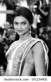 CANNES, FRANCE - MAY 13: Actress Deepika Padukone attends the premiere of 'On Tour' during the 63rd Cannes Film Festival on May 13, 2010 in Cannes, France.