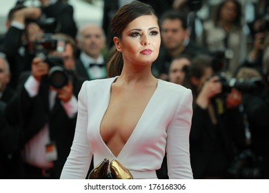 CANNES, FRANCE - MAY 13: Cheryl Cole attends the 'Habemus Papam' Premiere during the 64th Annual Cannes Film Festival on May 13, 2011 in Cannes, France.