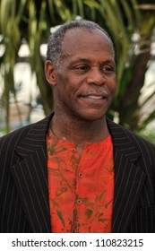 """CANNES, FRANCE - MAY 14, 2008: Danny Glover at photocall for his movie """"Blindness"""" at the 61st Annual International Film Festival de Cannes."""