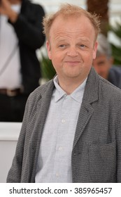 "CANNES, FRANCE - MAY 14, 2015: Toby Jones at the photocall for his movie ""Tale of Tales"" at the 68th Festival de Cannes."